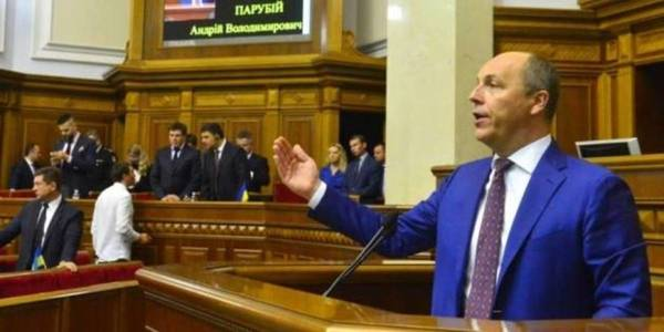 "Andriy Parubiy wants to set up ""horizon"" for voluntary amalgamation of hromadas"