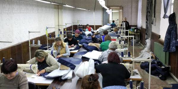 Sewing unit started its work in Butenkivska AH