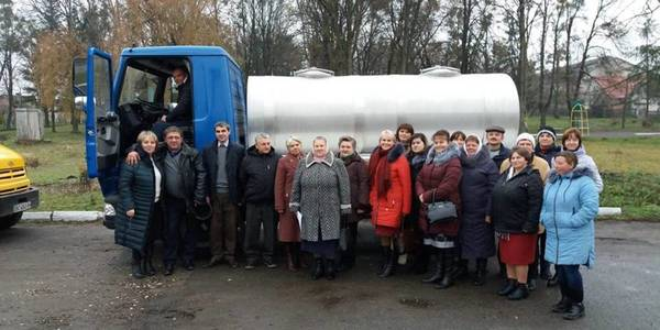 Dairy plant to be constructed in Zabolotsivska AH