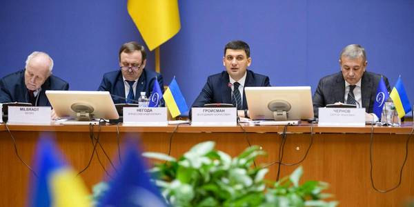 Irreversibility of decentralisation needs to be enshrined in the legislation, first of all in the Constitution, – Volodymyr Groysman