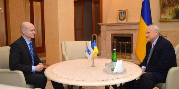 Special representative of the OSCE head visits Zakarpattia Oblast with a working visit