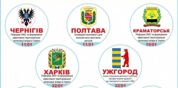 Ukrainian Association of Rayon and Oblast Councils invites to specialised workshops: registration is ongoing (+CURRICULUM)
