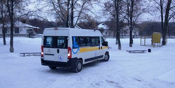 Bilotserkivska AH - first in Ukraine to receive special car