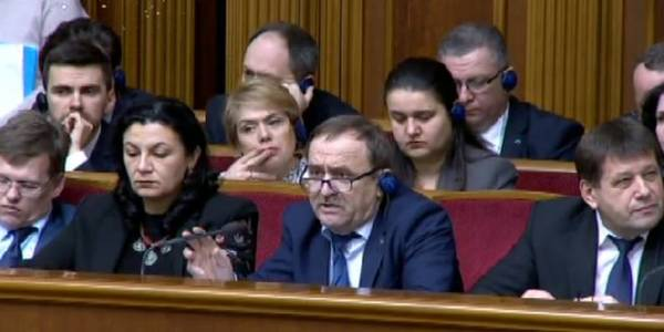 """We are approaching the time, when we have to act decisively,"" - Vyacheslav Nehoda addressing MPs"