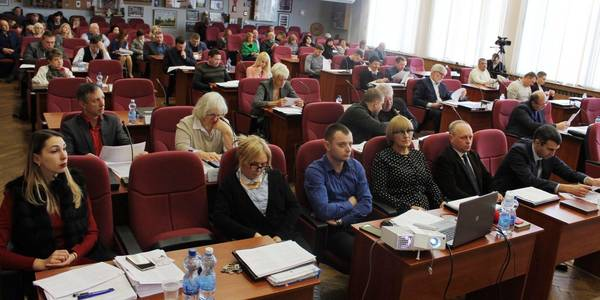 Second city of oblast significance forms AH in Poltava Oblast