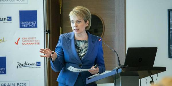 "Vocational education institutions to be financed and managed by oblast level – this is already envisaged by draft law ""On Vocational Education"", - Liliya Hrynevych"