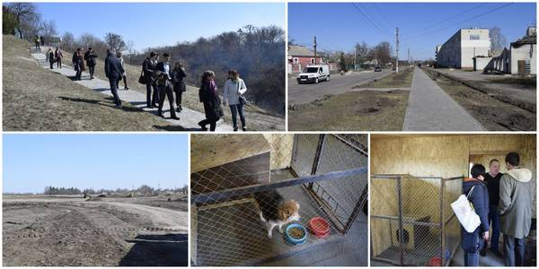 "Kamyanska AH: longest sakura alley, ""sun field"" for EUR 35 million and care for homeless pets"