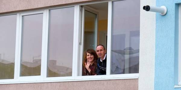 106 families in the Slobozhanska AH received apartments in a new building