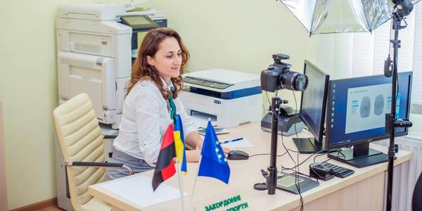 Velyki Hayi ASC can issue ID cards and foreign passports