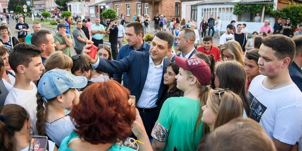 Stopping decentralisation reform right now is like stopping the train at full speed – Volodymyr Groysman