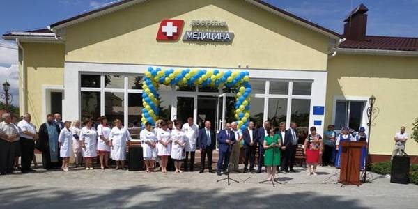 Modern village outpatient clinic opened in Zhdanivska AH