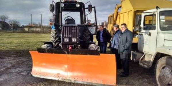 Pochayivska AH in Ternopil Oblast got new tractor MTZ-92 for UAH 0.6 million