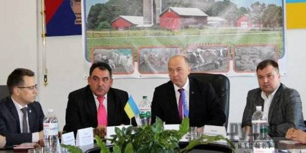 Farming development issues were discussed in Baranivka