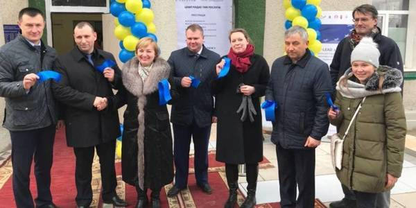 New Administrative Service Centre opened in Severynivska AH