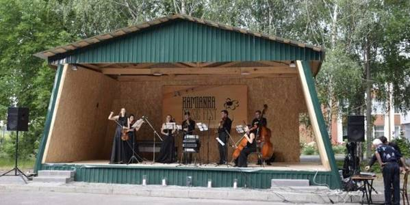 Cultural tradition to hold Kamianka Music Fest annually appeared in Kamianska AH