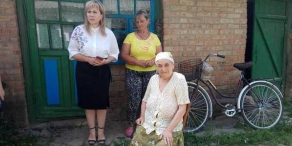 Bicycles for social workers in AH of Vinnytsia Oblast