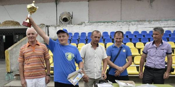 Team of Shcherbanivska AH won oblast sports championship among AHs of Poltava Oblast