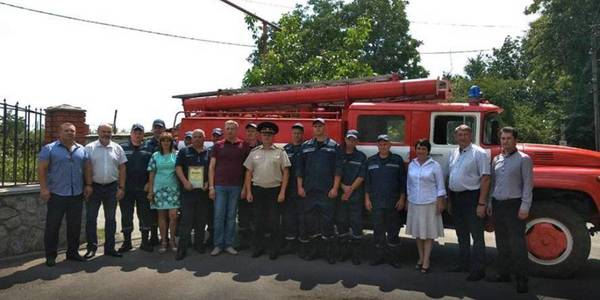 Local fire department opened in AH of Poltava Oblast