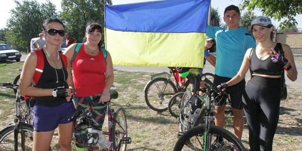 Bicycle tour and all-Ukrainian record: European Mobility Week in Mykolayivska AH