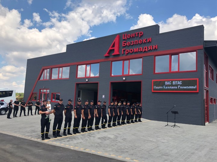 First Civil Security Centre Opens in Odesa Oblast