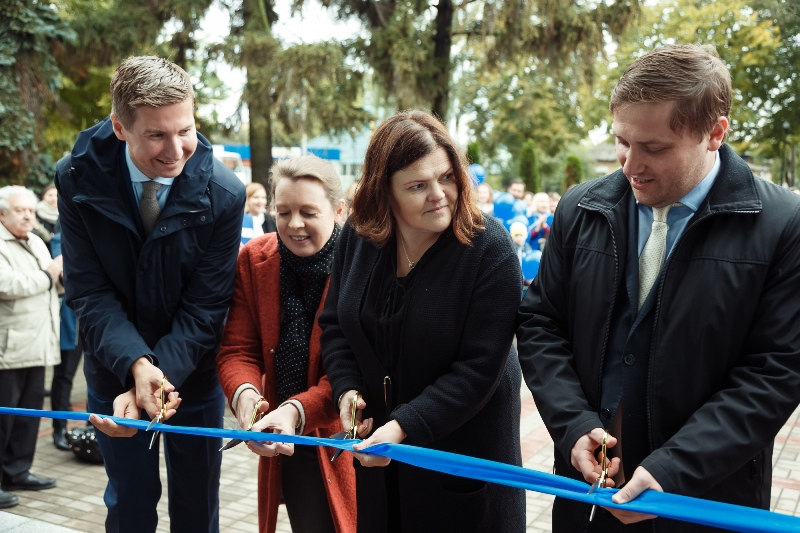 A Modernised Administrative Services Centre Began Operating in Hostomel Community with the support of the U-LEAD with Europe Programme