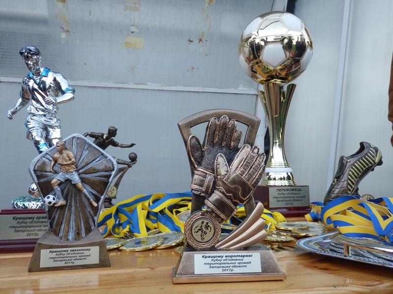 First AHs football cup final took place in Zaporizhzhya