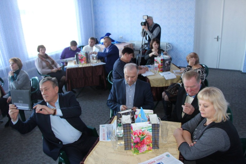 Guests from Chernihiv in Dnipropetrovsk Oblast