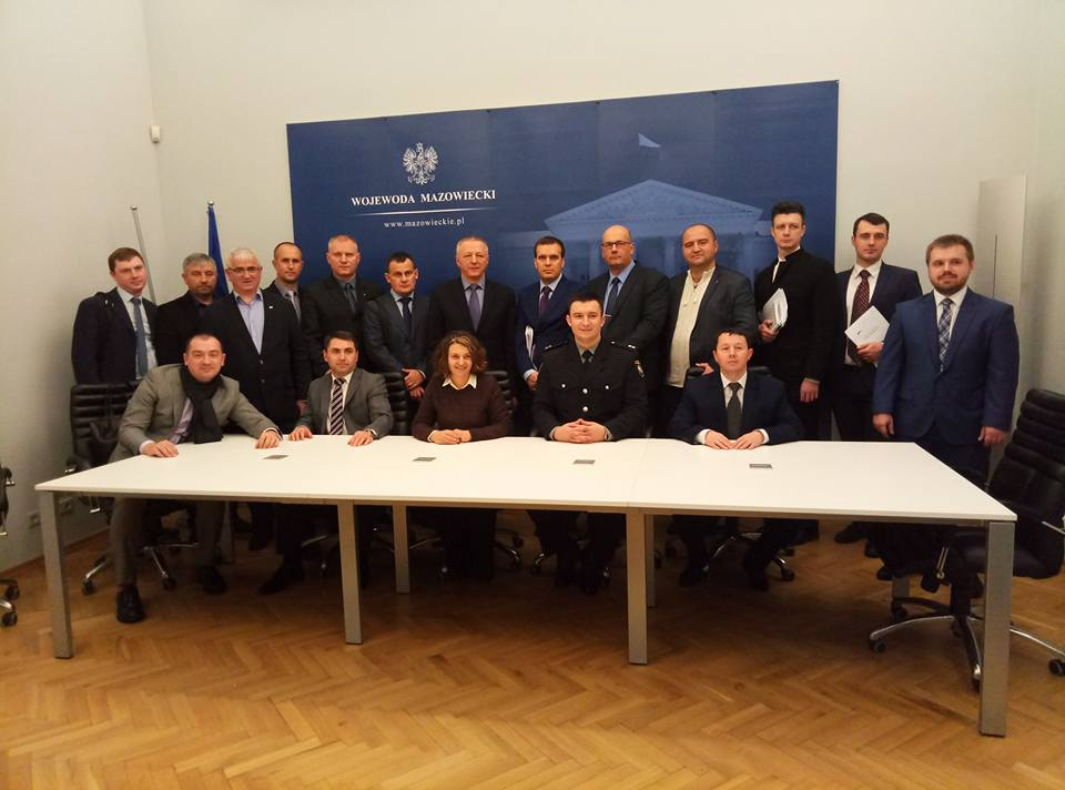 Sumy Oblast delegation was studying Polish experience in overcoming emergency situations for AHs