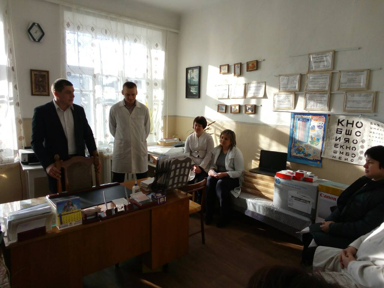 Family doctors got computer equipment in Chopovytska AH