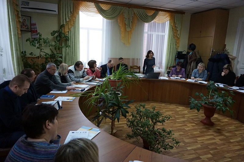Way to improve work organisation of hromada council discussed in Chernihiv Oblast