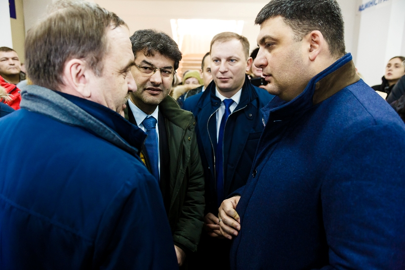 Prime Minister participated in opening of modern ASC in Zolotnykivska AH