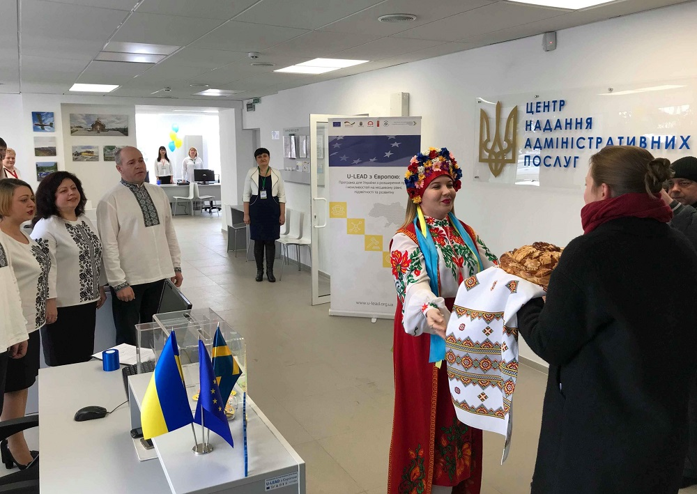 Zaporizhzhya Oblast's first settlement-rayon ASC opened in Veselivska AH