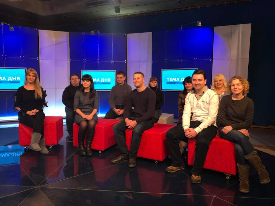 "Communicators from hromadas of Dnipropetrovsk Oblast became guests of ""Topic of the Day"" programme at Suspilne TV"