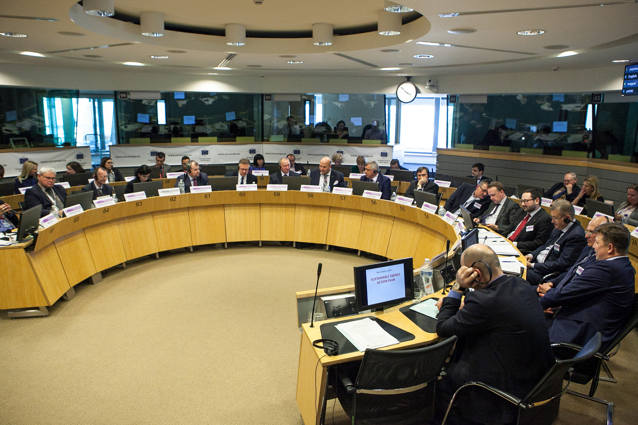Ukrainian hromadas and regions presented their achievements and plans within Peer-to-Peer cooperation in Brussels