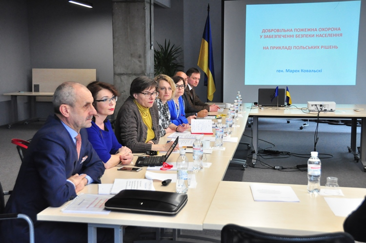 Polish experts to provide support to Ukrainian hromadas in formation of voluntary fire brigades
