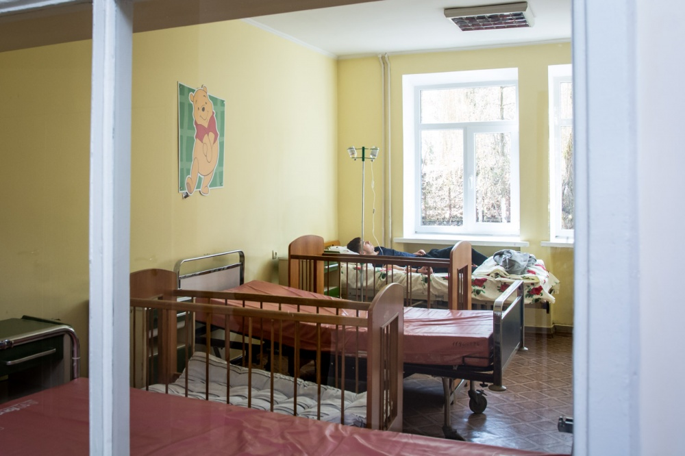 Children's hospital department renovated in Ternopil at the expense of SFRD