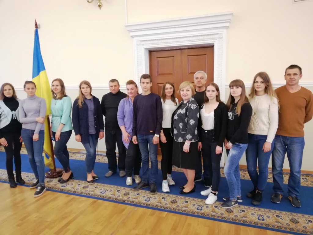 School pupils from AHs of Zhytomyr Oblast visited MinRegion and House of Decentralisation