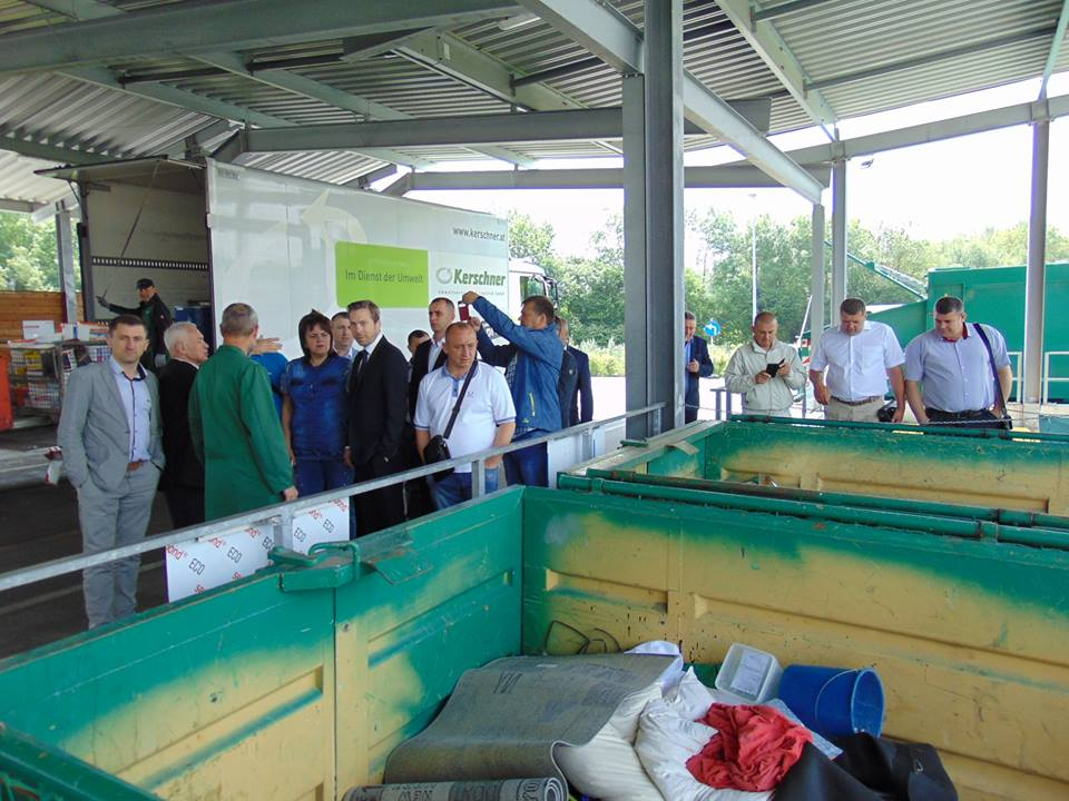 How to efficiently recycle waste and preserve environment – AHs of Vinnytsia Oblast study foreign experience