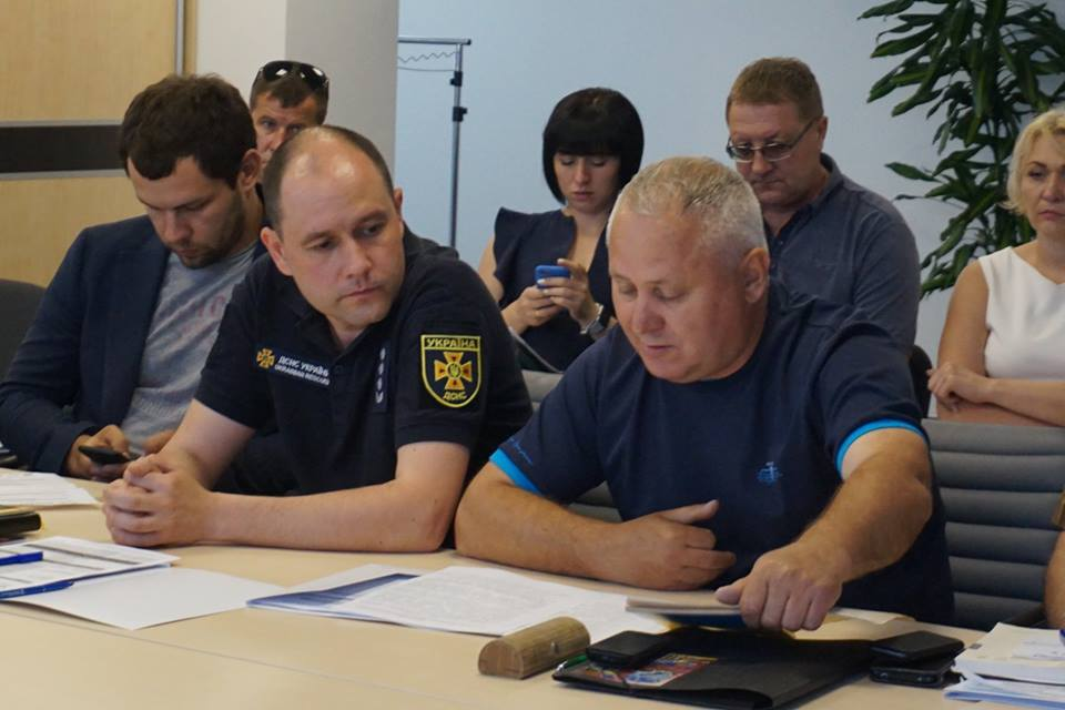 Competition for AHs to improve their level of protection against emergencies presented in Zaporizhzhia
