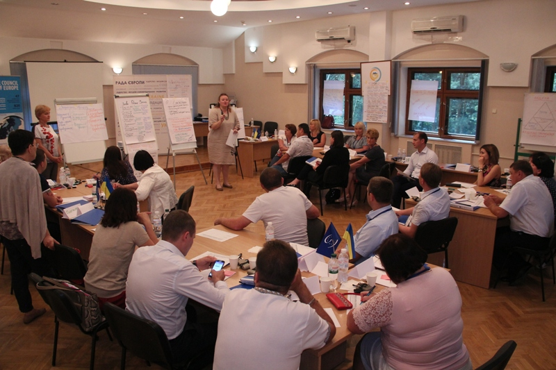 The Council of Europe Leadership Academy welcomes its participants from Donetsk and Luhansk Oblasts