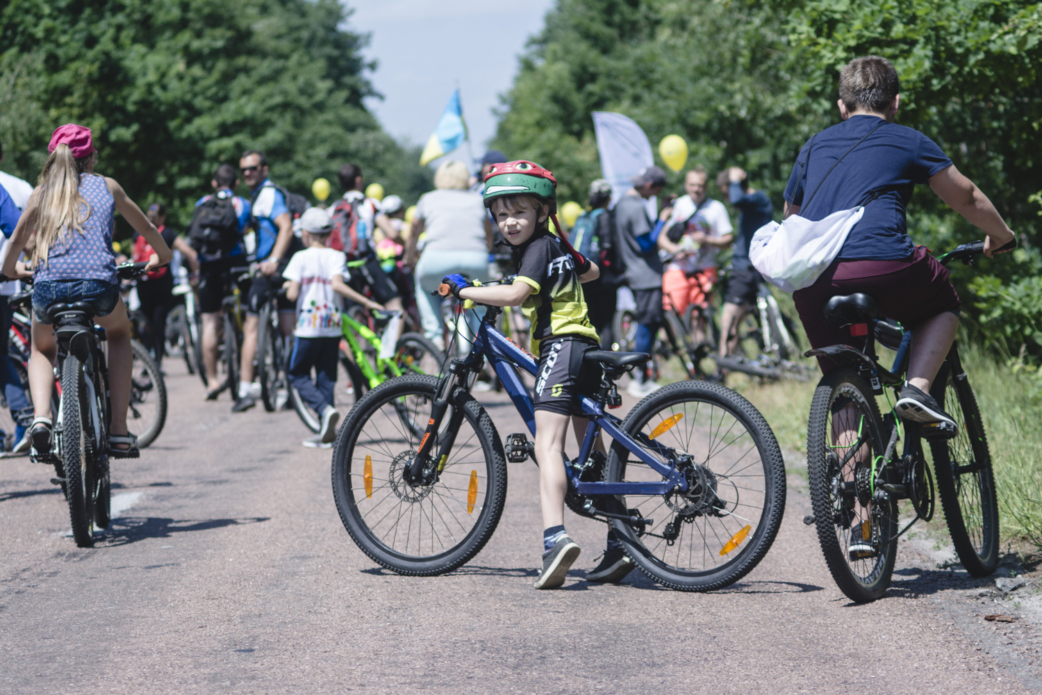 """Green Light for Cycling in Hromadas"": all-Ukrainian initiative started in Zhytomyr Oblast"