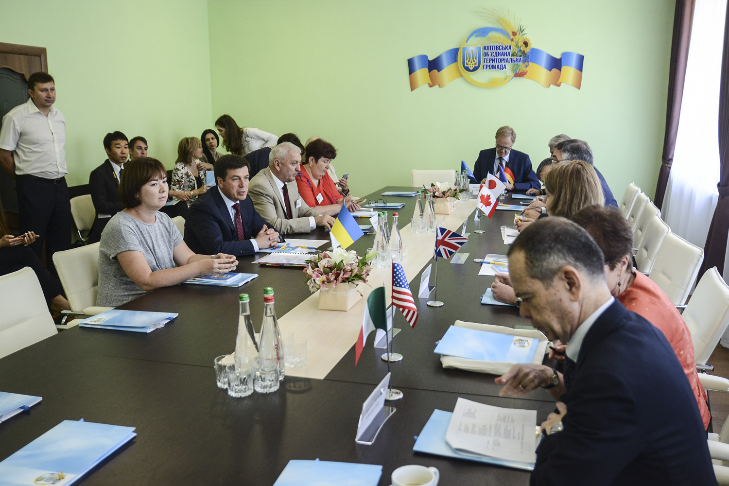 Hennadii Zubko and G7 ambassadors discussed relevant issues of decentralisation reform in Kiptivska AH