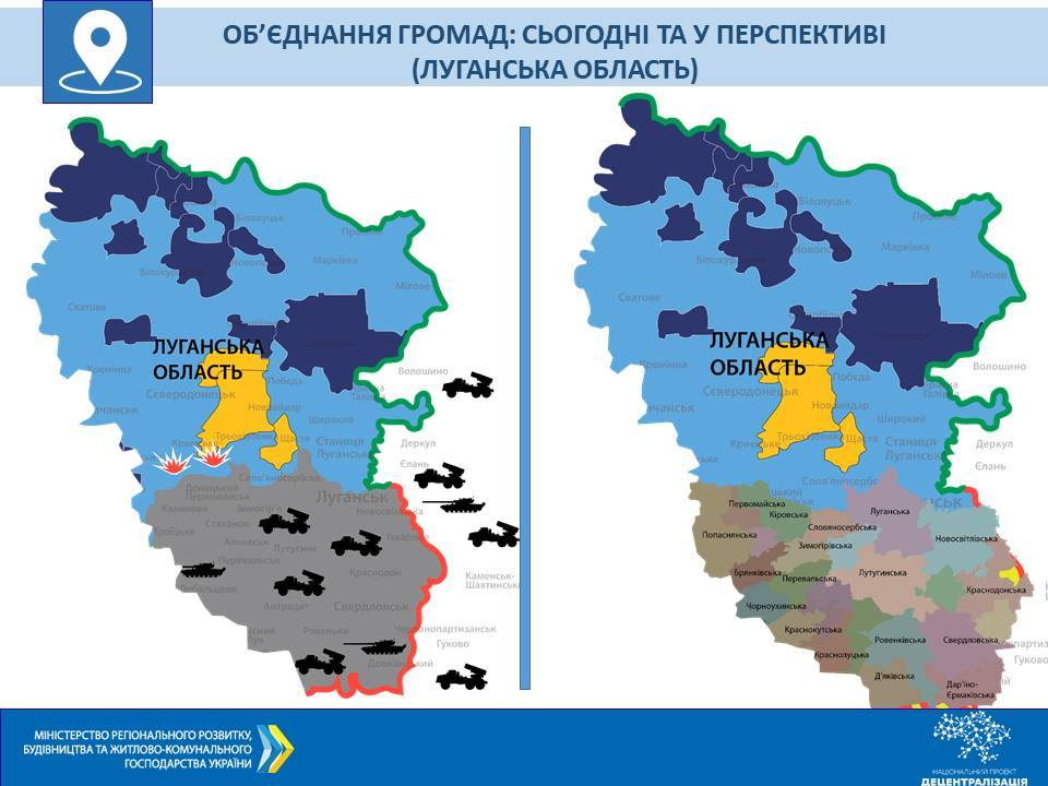 We have to develop perspective plans for the formation of hromadas on the temporarily occupied territories of Donbas and Crimea, - Hennadii Zubko