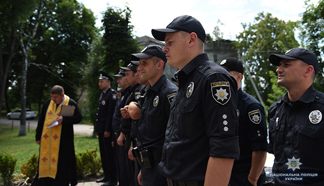 New police station started working in Terebovlia Rayon