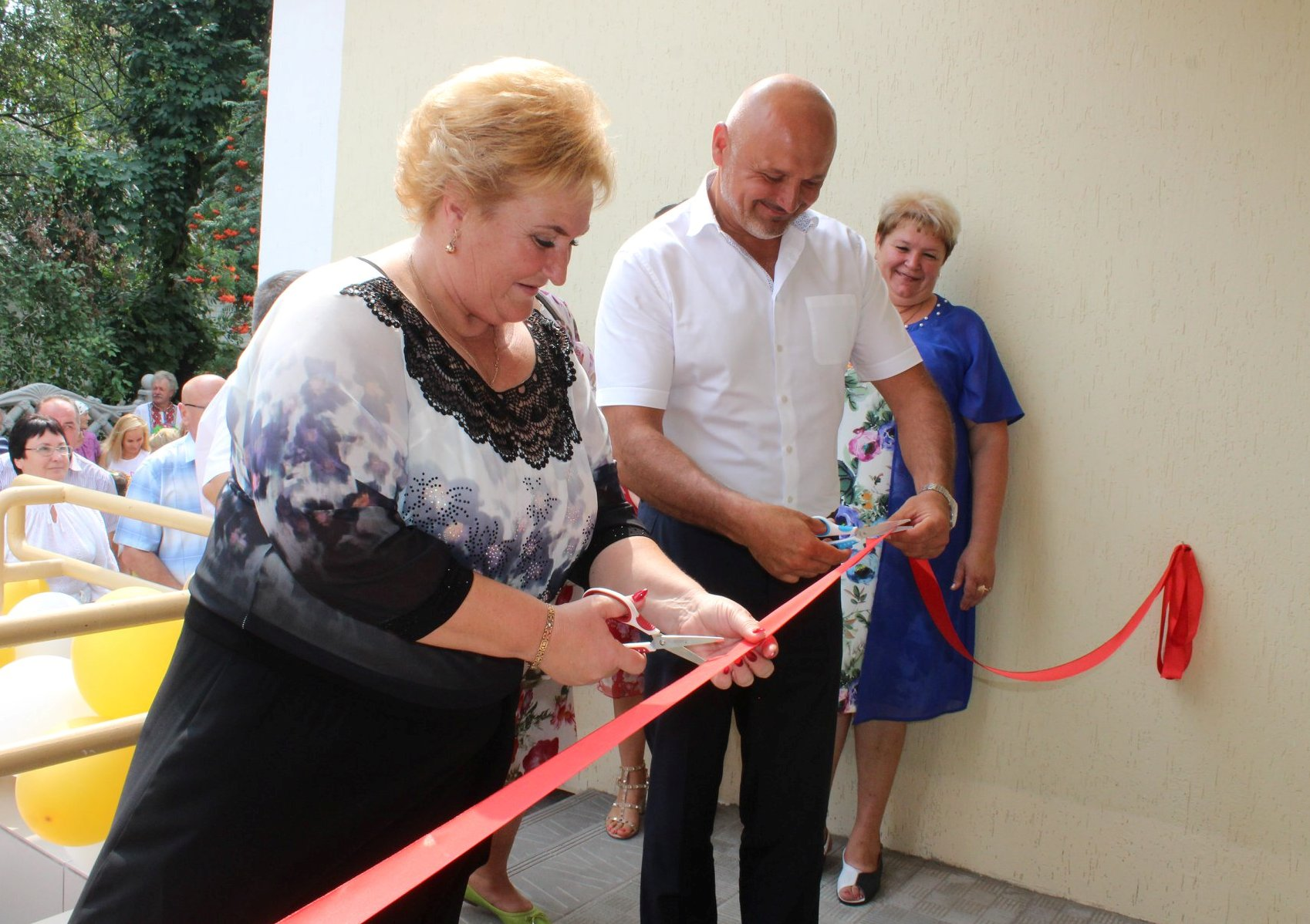 "First in Ukraine ""House of Protected Elders"" opened in Semenivska AH"