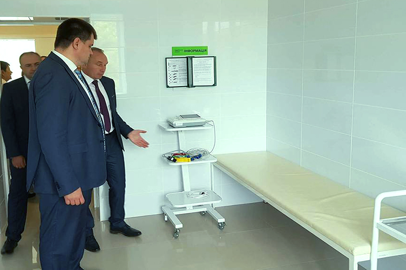 Decentralisation in Sumy Oblast, positive changes: library and up-to-date therapy unit have been opened in Trostyanetska AH