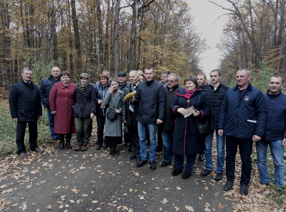 Lviv residents studied experience of Volyn colleagues in using forest resources