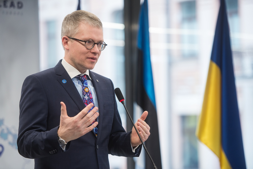 Estonian Minister of Public Administration discussed local government reforms in Kyiv