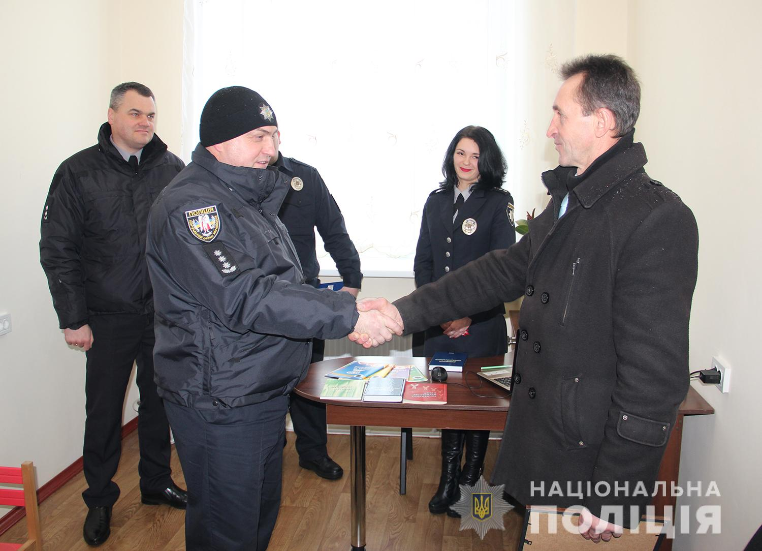 Police station started working in Radomyshl Rayon