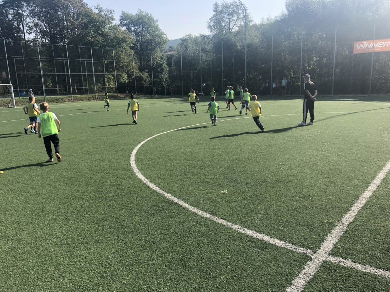 """""""We want to bring up healthy generation"""" - sports school opened in Polianska AH"""